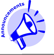 JrH/HS Announcements 9/25