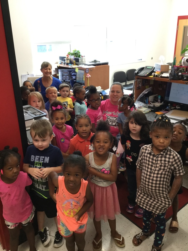 PreK visit to the office